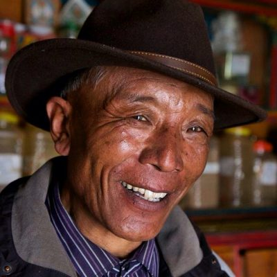 Rabding's father,  a tibetan doctor and an incredibly kind and generous man.