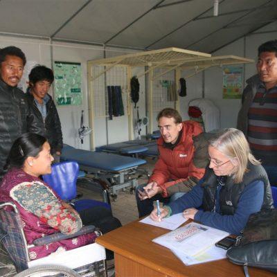 Marion and Thomas in Yushu