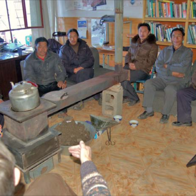 Training workshop for nature reserve staff about human-wildlife conflict (Marc Foggin)